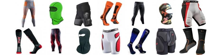 Calze Calzamglie SottoCasco Pantaloncini per Moto Auto e Bici
