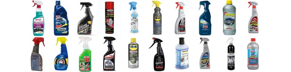 Detergenti e Sgrassatori per Auto, Moto, Bici.....